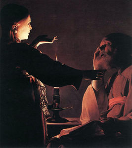 Georges De La Tour - The Dream of St Joseph