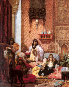 Georges Jules Victor Clairin - The sultans favorites