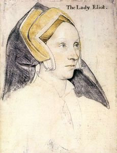 Hans Holbein The Younger - Lady Elyot