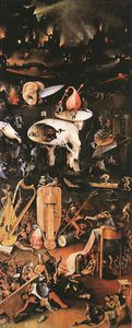 Hieronymus Bosch - Garden of Earthly Delights right wing
