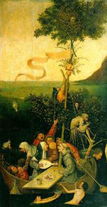 Hieronymus Bosch - The Ship of Fools2