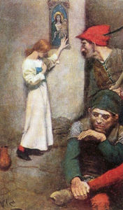 Howard Pyle - Joan of Arc in Prison