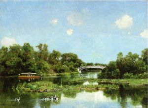Hugh Bolton Jones - South End of Wooded Island aka View of Transportation Terrace