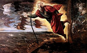 Tintoretto (Jacopo Comin) - Creation of the Animals