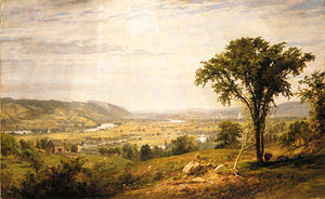 Jasper Francis Cropsey - wyoming valley pennsylvania