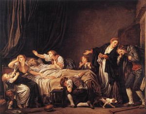 Jean-Baptiste Greuze - The Punished Son