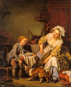 Jean-Baptiste Greuze - The Spoiled Child