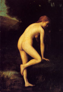 Jean Jacques Henner - The bather