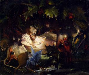 John Anster Fitzgerald - Jon anster the fairy bower
