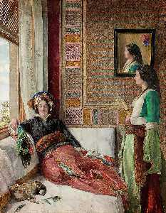John Frederick Lewis - Harem Life in Constantinople