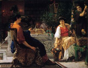 Lawrence Alma-Tadema - Preparations for the Festivities