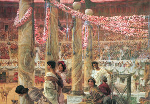 Lawrence Alma-Tadema - Caracalla and Geta