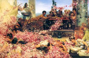 Lawrence Alma-Tadema - The Roses of Heliogabalus