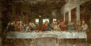 Leonardo Da Vinci - The Last Supper pre