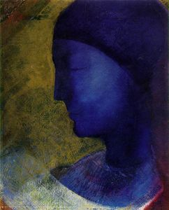 Odilon Redon - Golden cell