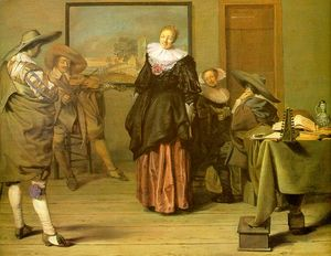 Pieter Jacobs Codde - The Meagre Company