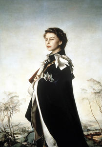 Pietro Annigoni - Portrait of Queen Elizabeth II