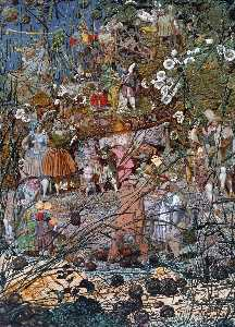 Richard Dadd - The fairy feller-s master stroke