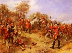 Robert Alexander Hillingford - George II At The Battle Of Dettingen