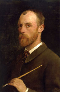 George Clausen - Portrait of the Artist