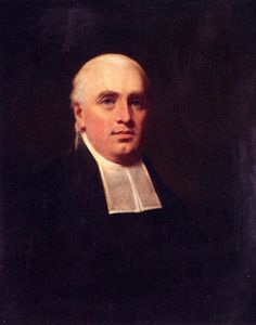 Henry Raeburn - Portrait of the rev wiilaim paul