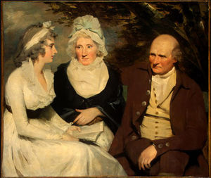 Henry Raeburn - John Johnstone Betty Johnstone and Miss Wedderburn
