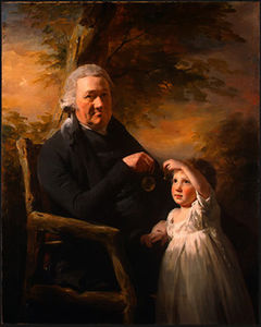 Henry Raeburn Dobson - John Tait and His Grandson