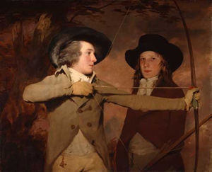 Henry Raeburn Dobson - the archers