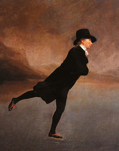 Henry Raeburn - the reverend robert walker skating