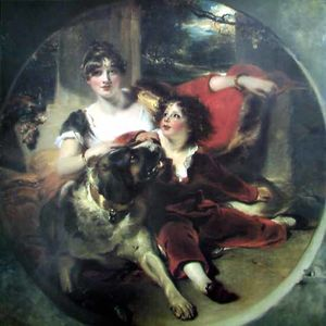 Thomas Lawrence - Mrs Maguire and her son BGG