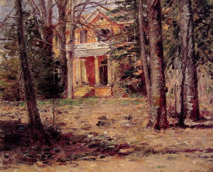 Theodore Robinson - House in Virginia