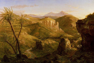 Thomas Cole - The Vale and Temple of Segesta Sicily