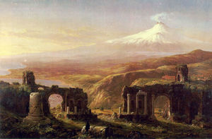 Thomas Cole - Mount Aetna from Taormina ATC
