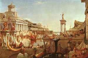 Thomas Cole - The Consummation from the series The Course of the Empire