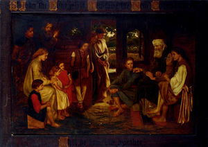 Valentine Cameron Prinsep - St john the efvangelist teaching the new commandment