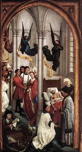 Goswijn Van Der Weyden - Seven Sacraments (right wing)