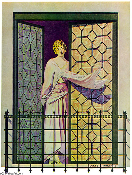 Untitled (818) by Coles Phillips (1880-1927, United States) | Painting Copy | WahooArt.com