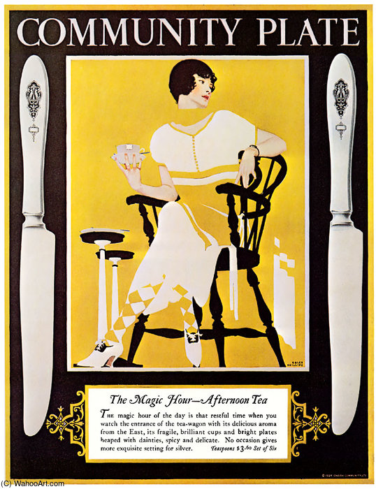 Untitled (887) by Coles Phillips (1880-1927, United States)