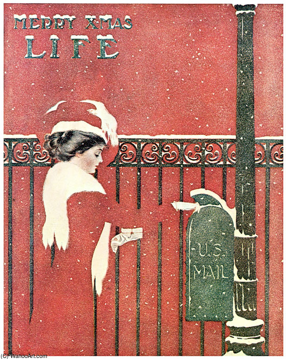 Untitled (444) by Coles Phillips (1880-1927, United States) | Famous Paintings Reproductions | WahooArt.com