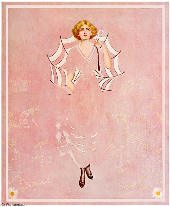 Untitled (554) by Coles Phillips (1880-1927, United States) | Museum Quality Reproductions | WahooArt.com