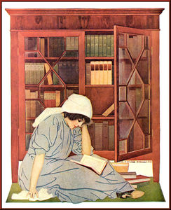 Order Museum Quality Reproductions : Untitled (945) by Coles Phillips (1880-1927, United States) | WahooArt.com