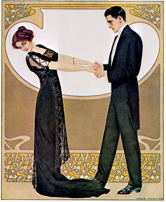 Untitled (307) by Coles Phillips (1880-1927, United States) | Famous Paintings Reproductions | WahooArt.com
