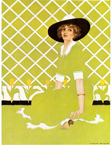 Order Oil Painting : Untitled (142) by Coles Phillips (1880-1927, United States) | WahooArt.com