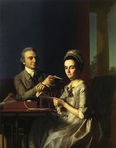 John Singleton Copley - Mr. and Mrs Thomas Mifflin Sarah Morris