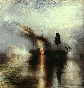 William Turner - Snowstorm Peace Burial at Sea