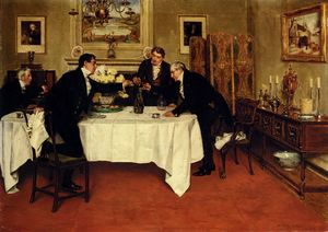 Order Famous Paintings Reproductions : The last of the vintage by Walter Dendy Sadler (1854-1923, United Kingdom) | WahooArt.com