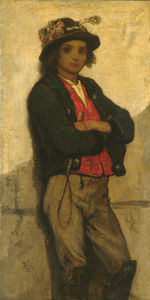 William Morris Hunt - Italian boy