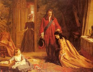 William Powell Frith - An incident in the life of mary wortley montague
