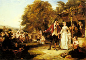 William Powell Frith - A may day celebration
