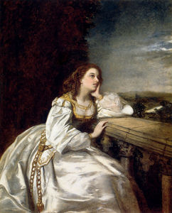 William Powell Frith - Juliet o that i were a glove upon that hand
